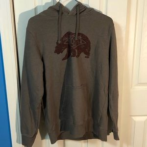 The North Face Bear Graphic  Hoodie Mens Sz L